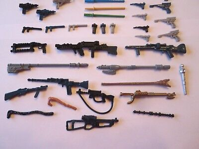 41 Vintage Star Wars Weapons Figures  Repros NICE for Vintage Figures