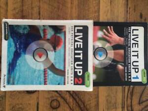 VCE Physical Education Textbooks Live It Up Units 1&2 / Units 3&4 Highett Bayside Area Preview