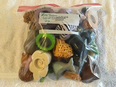 Fisher Price Little People Zoo Talkers Lot of 22 Animals including Turtle, Hippo