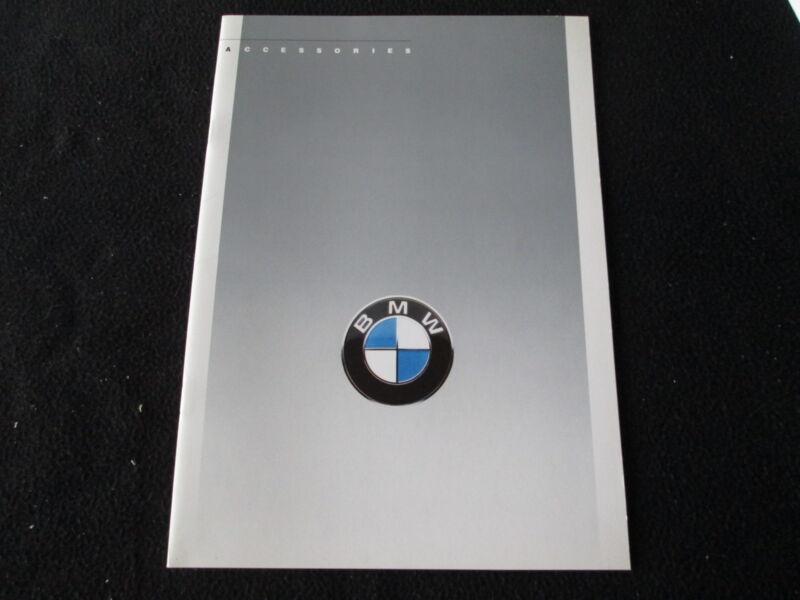 1988 1987 BMW Accessories Brochure E30 M3 325i Conv 325is E24 M6 635CSi Catalog