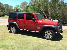 2011 Jeep Wrangler Unlimited Convertible Karana Downs Brisbane North West Preview
