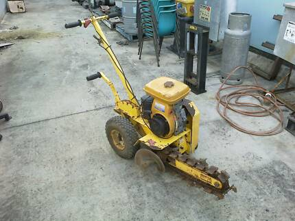 small trench digger for hire