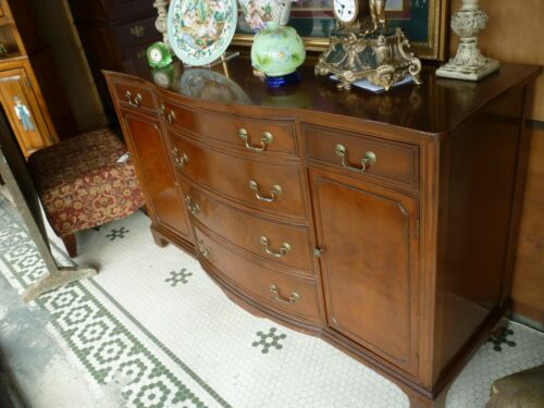 Antique Mahogany Duncan Phyfe Style Sideboard