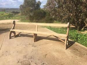 Church pew Mannum Mid Murray Preview