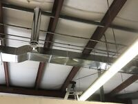 Gas lines, Hot water Tanks, Furnaces,  Duct work