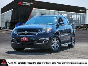 2015 Chevrolet Traverse LT Leather / Bluetooth / Navigation
