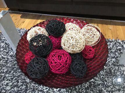 Decorative Balls For Bowls Australia Fascinating 7 Porcelian Balls Decorative Decor  Decorative Accessories Inspiration Design