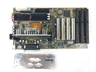 DFI P2XBL Slot 1 Motherboard Intel Celeron @ 300MHz 64MB RAM 3x ISA 4x PCI 4 X Agp Slot