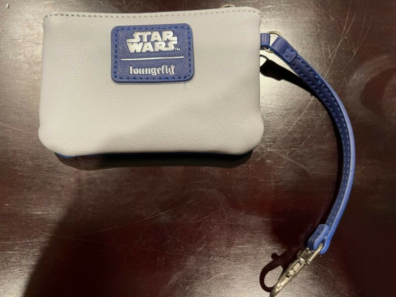 Rare Star Wars Loungefly Hoth AT-AT Walker Coinpurse Womens Change Purse Wallet
