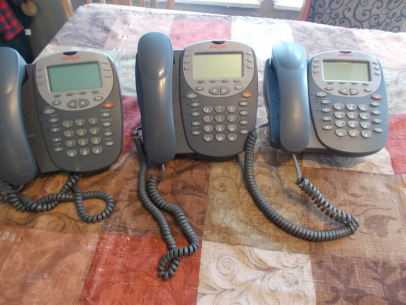 Avaya 5410 Digital Business Display Phone Lot of 3 Telephones *FREE SHIPPING*