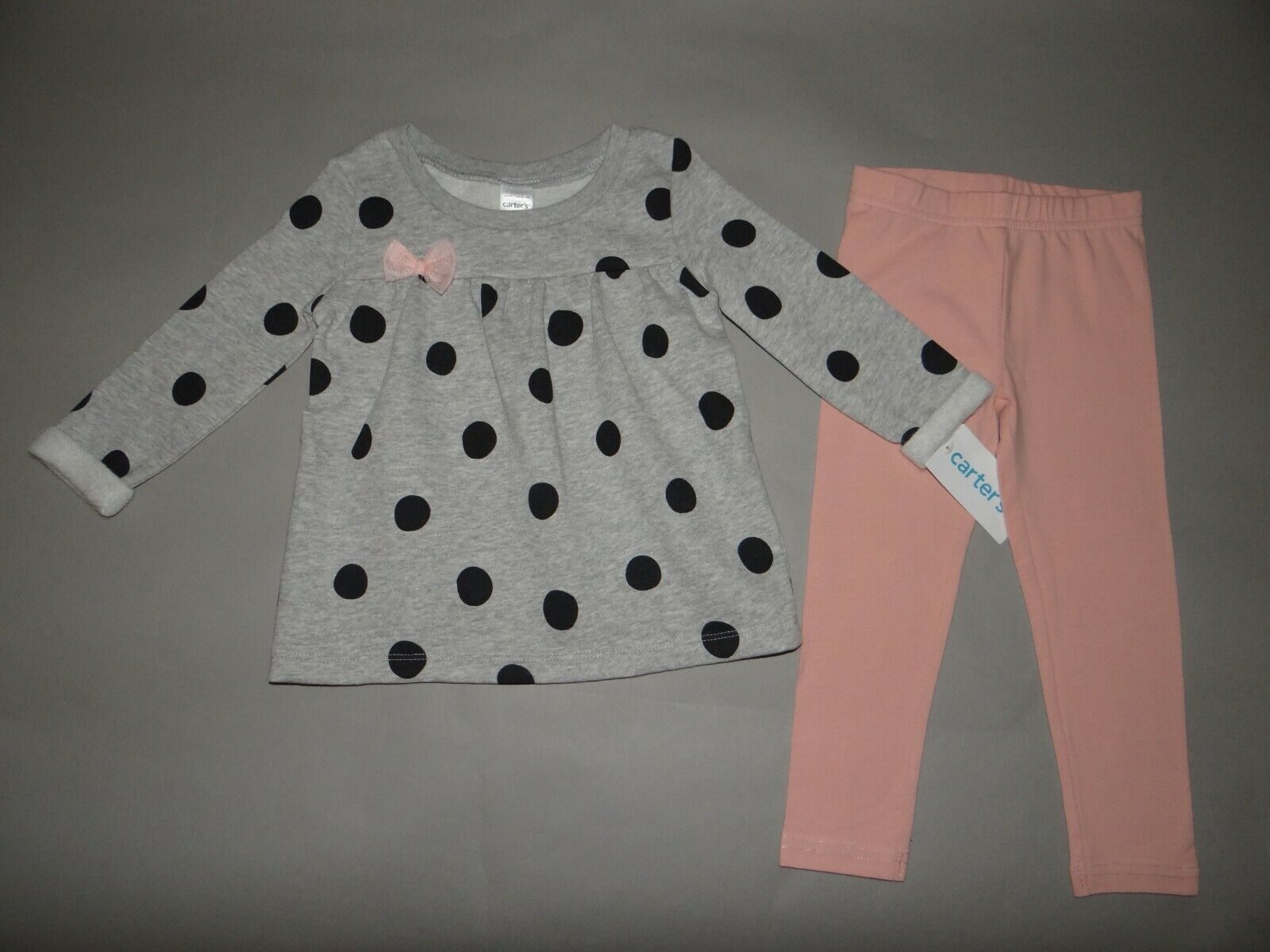 NWT, Baby girl clothes, 12 months, Carter's Fleece set/    ~SEE DETAILS ON SIZE