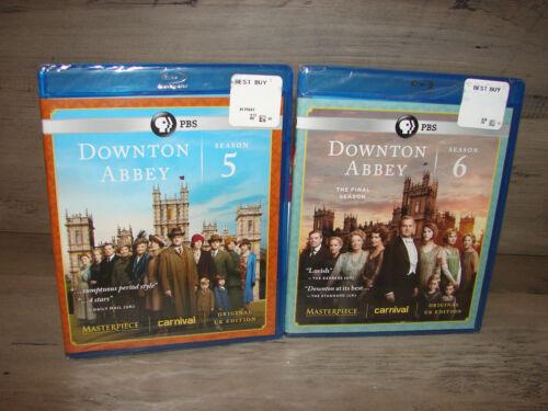 Downton Abbey Season 5 & 6 (blu-ray) 5th & 6th Seasons  ***new Sealed***