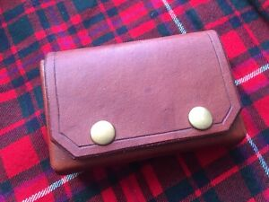 Hand made leather altoids belt pouch