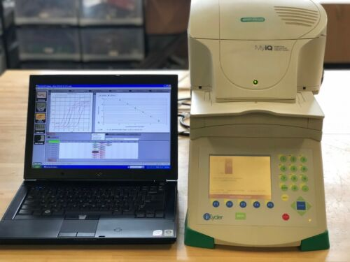 BioRad MyIQ Real-Time PCR Single Color With Computer - Tested and Calibrated