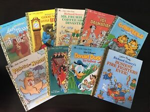 9 Little Golden Books