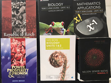 Year 10-11 text books. Fantastic condition