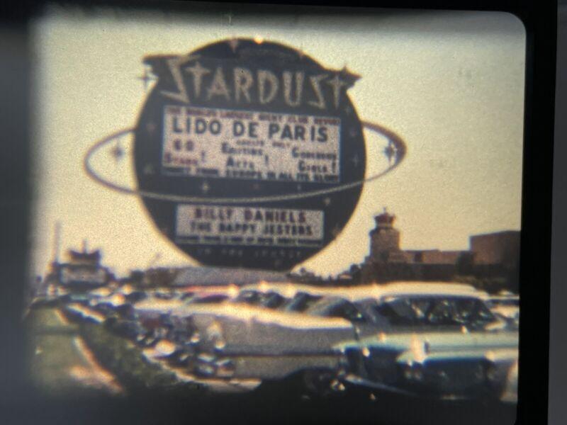 8mm Home Movie 1958 road trip Las Vegas Grand Canyon