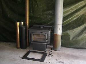 WOOD HEATER..... WITH FAN ASSIST & FLUE! Caboolture Caboolture Area Preview