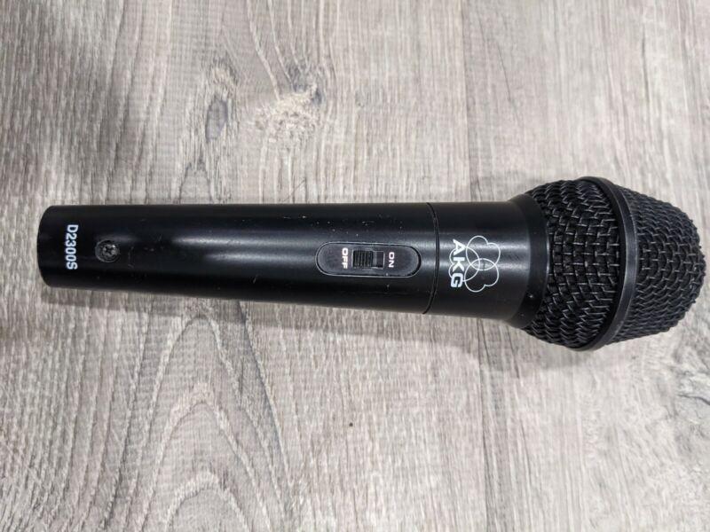 AKG D2300S MICROPHONE  MADE IN AUSTRIA