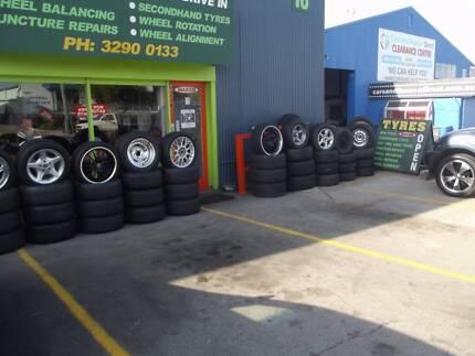 massive car tyres and mag wheel sale Slacks Creek Logan Area Preview