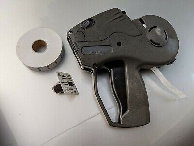Monarch 1136 Two Line Labeling Gun- Genuine Avery Dennison With Extras