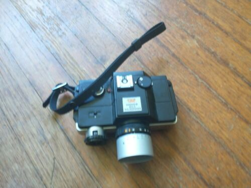 Minolta 110 Zoom SLR Film Camera 25-50mm F4.5 Macro Lens 9/10 Tested Works  - $10.00