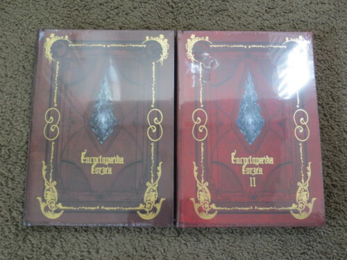NEW Encyclopaedia Eorzea Volume 1 and 2 Bundle w/ Minion Code+Matoya