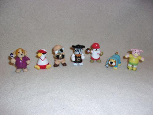 Webkinz, Set Of 7 Figurines By Ganz