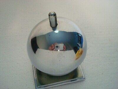Art Deco Chase Chrome Globe Ash Tray/Receiver #17068