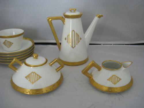 Art Deco China Tea / Coffee Set