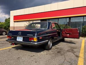 Rare coupe Mercedes w114