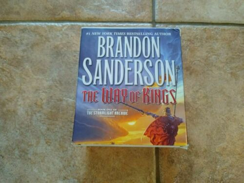 The Stormlight Archive - The Way of Kings by Brandon Sanderson CD Audiobook