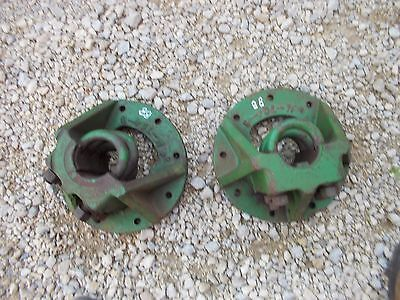 Oliver 88 Rc Tractor Rear 9 Bolt Press Steel 3 U Mount Bolts Axle Hubs