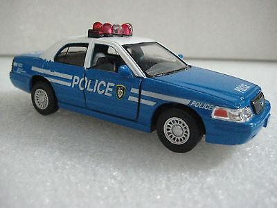Kinsmart Ford Crown Victoria Police Interceptor 1:42 diecast model toy fun - Ford Crown Victoria Diecast Model