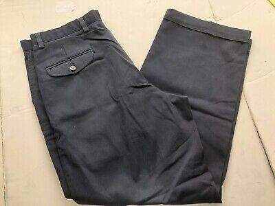 Mens pants DOCKERS size 34W X 29L navy odyssey twill double pleated chino  Twill Double Pleat Pants