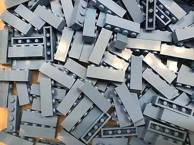 LEGO- NEW-#3010-1 x 4 MEDIUM BLUE BRICKS-25 PIECES