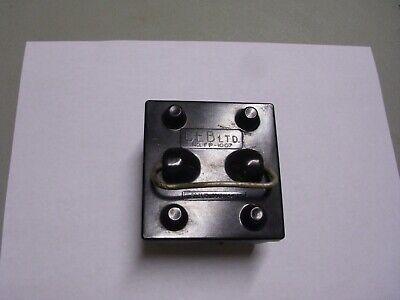 Vintage Ceb Ltd. Fuse Box Holder Pull Out 60 Amp 230v Ac