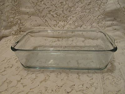 Vintage Fire King Sapphire Blue Loaf Pan