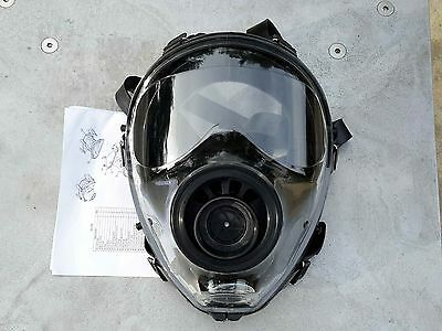 SGE 150 Gas Mask/Respirator NBC & Impact Protection BRAND NEW   Made in 4/2017