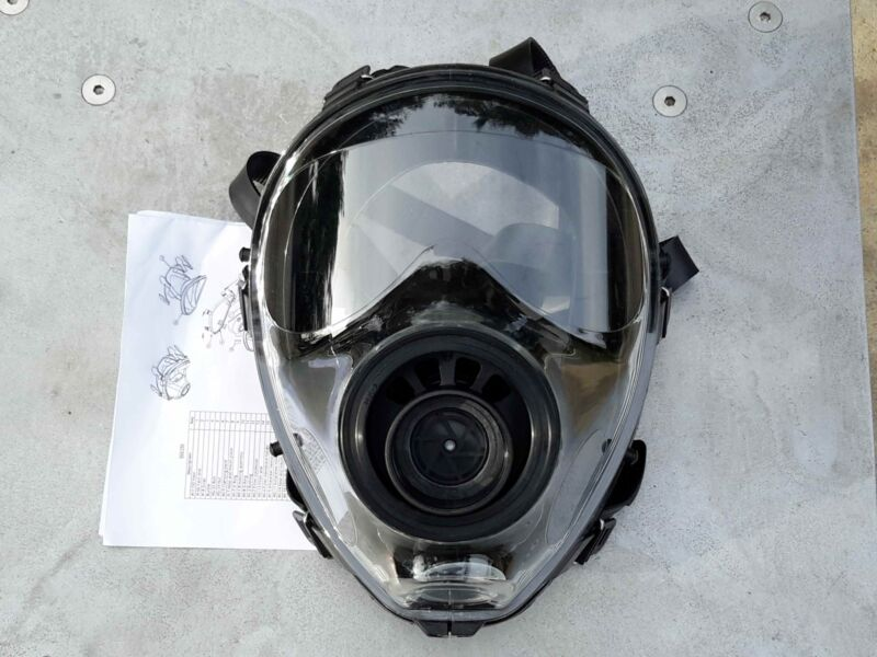 SGE 150 Gas Mask/Respirator NBC & Impact Protection BRAND NEW  >Made in MAY 2020