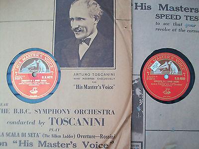 Bach Concerto in F minor Mozart Das Donnerwetter Edwin Fischer HMV DB 4679-4680