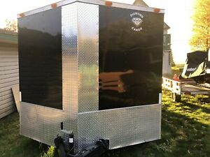 Enclosed 18 foot trailer