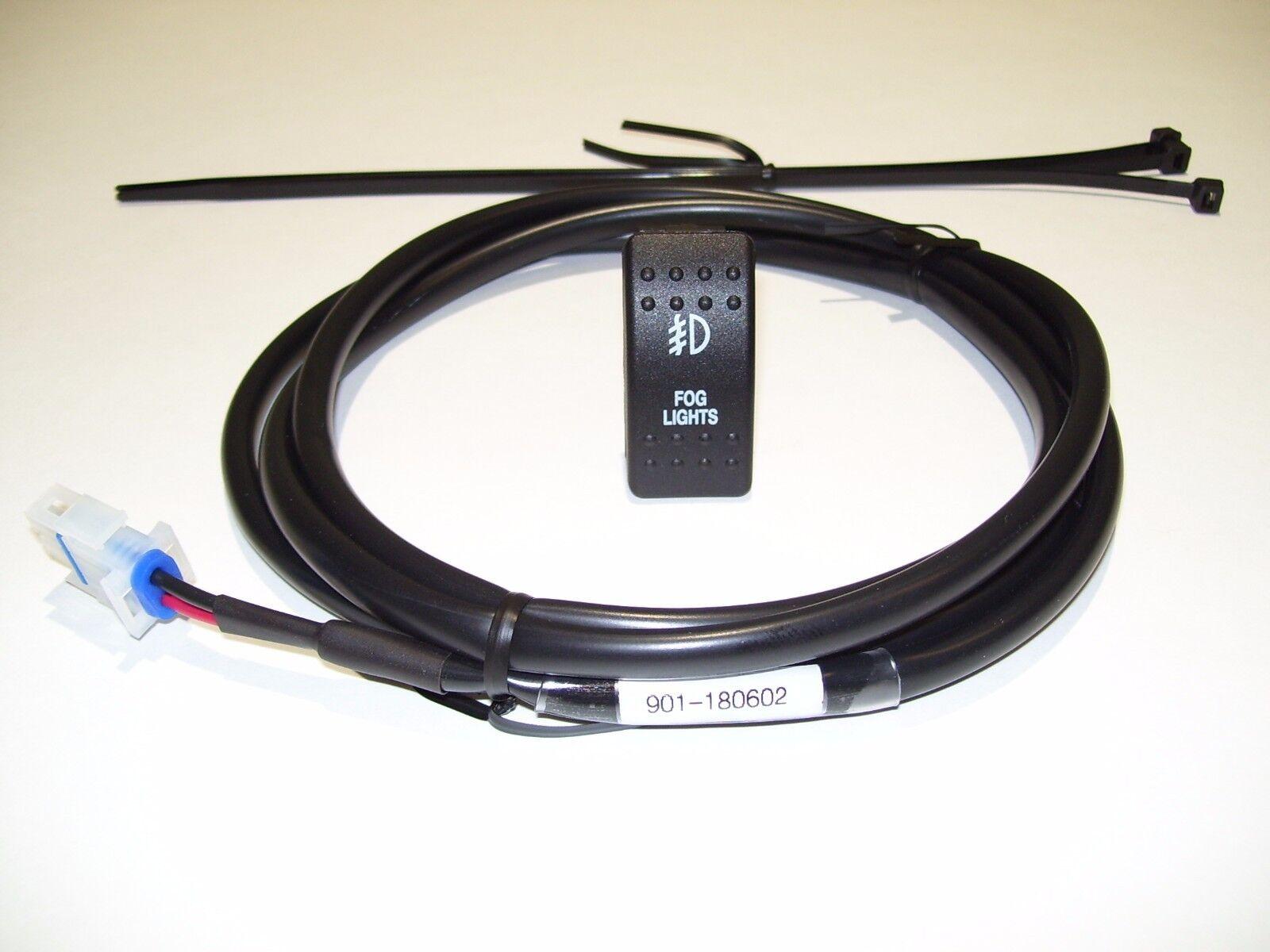 KIT#07, HONDA PIONEER 1000 3P/5P, FOG LIGHT,  HARNESS & SWITCH KIT, 6 FT, 5 AMP