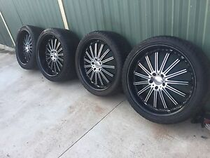 Wheels & tyres Guildford Parramatta Area Preview