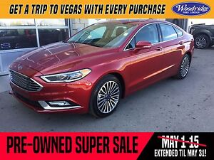 2017 Ford Fusion Titanium PRE-OWNED SUPER SALE ON NOW!