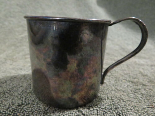 Vintage 1881 Rogers Sterling Silver Plated Baby or Childs Cup