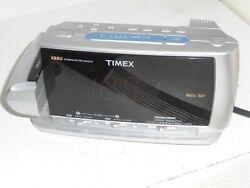 TIMEX T741 Dual Alarm Clock w/ XBBU Soothing Sounds Display Projector Radio FMAM