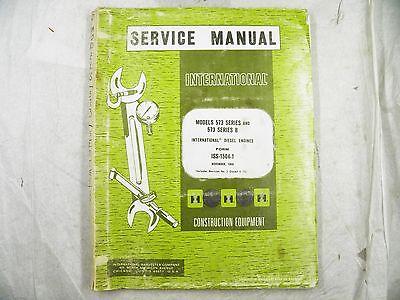 Ih International 573 Engine V8 Diesel Service Manual