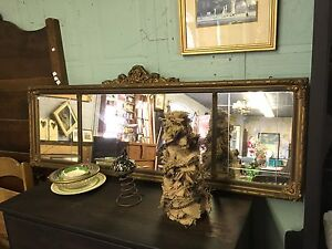 ORNATE ANTIQUE MIRROR $125