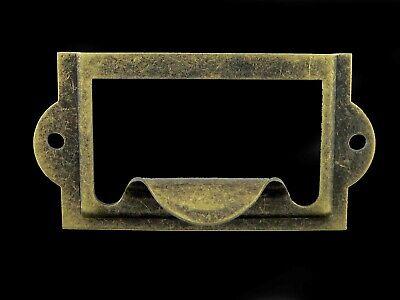 L2429 Label Holder Antique Brass (10 pcs.)